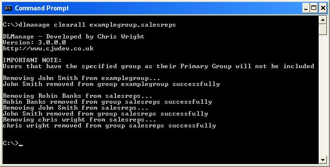 DL Manage screenshot