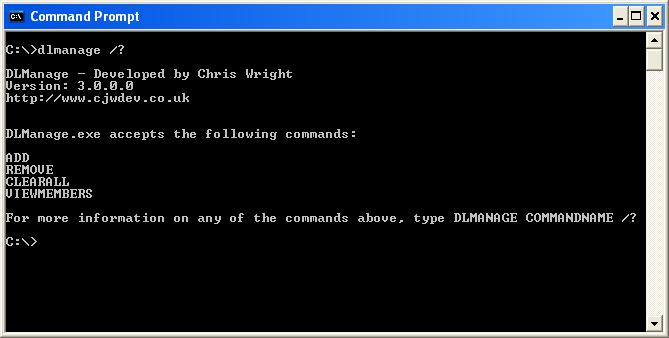 Full DL Manage screenshot