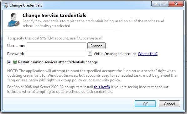 Cjwdev | Service Credentials Manager
